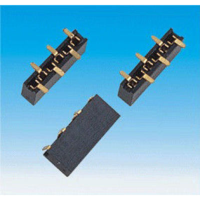 Female Strips Box Header SMT Connector For LED Lamps Baord 6 Circuits