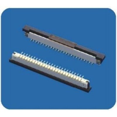 Right Angle FCI Replacement FPC 1MM Pitch Connector Dual Row For LCD panels,LED 3D TVs, LED TVs