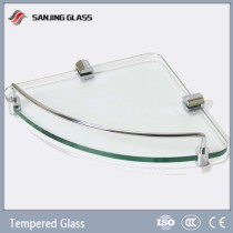 12mm Tempered Bathroom Glass Shelf