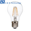 New Model! 6W Clear LED Filament Bulb E27 660LM Incandescent bulb replacement