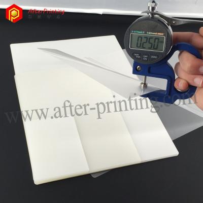 125micron 5mil 500gauge Thin PET Pouch Lamination Sheet Office Supplies