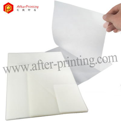 Glare-Resistant Finish One Side Matte Pouch Laminating Film