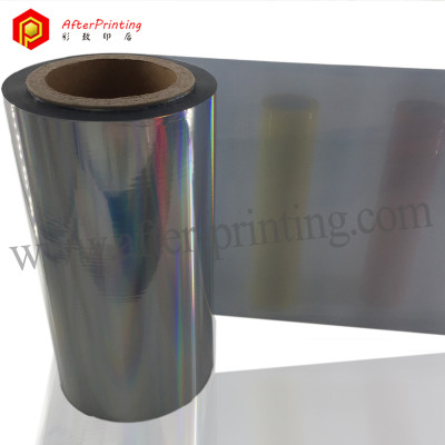 Shiny Performance Silver Cold Stamping Foil for Thin Substrates