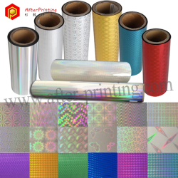Rainbow Iridescent PET Adhesive Lamination Film 24μm