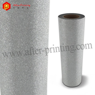 Transparent & Silver Glitter CPP Thermal Laminating Film
