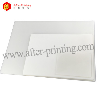 Letter Size Transparent Plastic Lamination Pouches Sheet