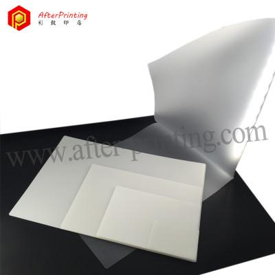 Transparent PET Laminating Carrier Sheets Gloss 80MIC