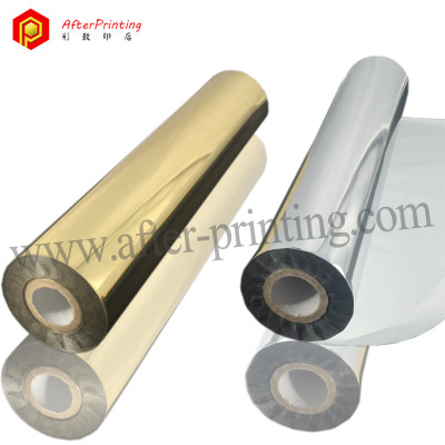 Gold Hot Foil Stamping for Paper/Plastic/Leather/Textile