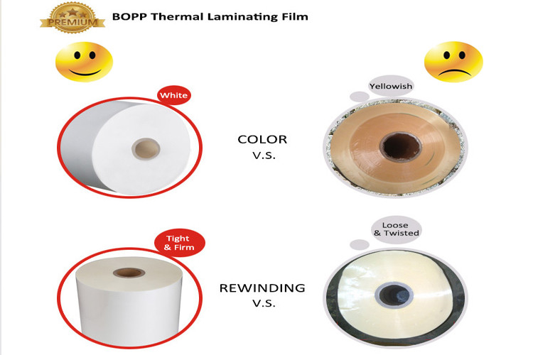 lamination film roll product quality comparison