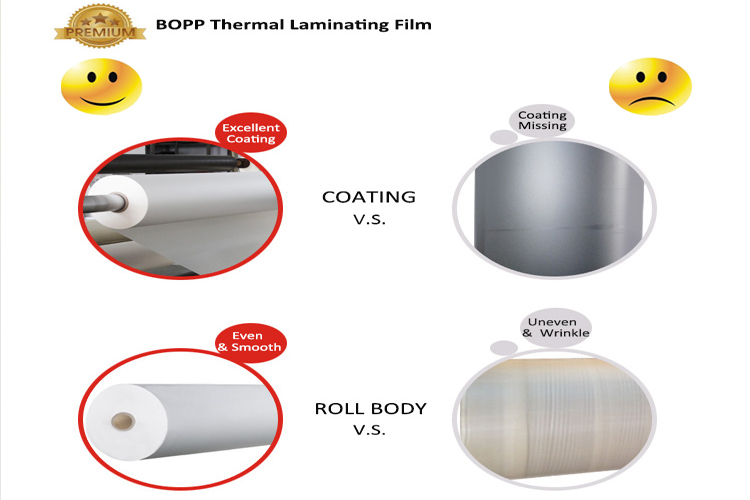 plastic film roll product quality comparison