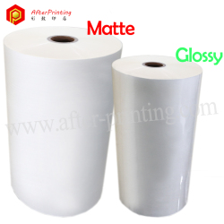 Glossy & Matte BOPP Thermal Laminating Film 15μm to 30μm