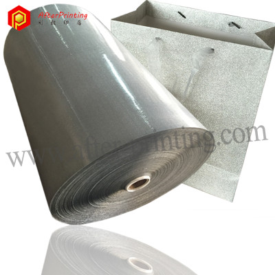 Sparkle Hot Lamination Plastic Film for Bag Decoration