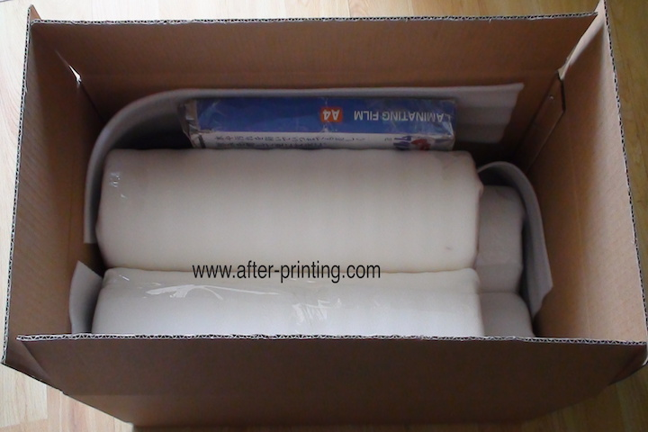 Packing of sample delivery 720