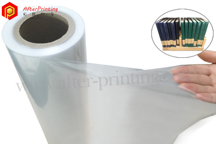 central-folded polyolefin shrink film roll