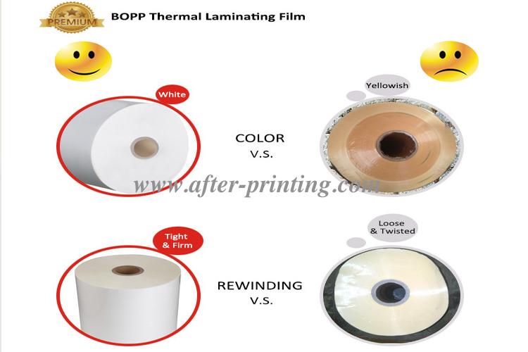 good price high quality thermal lamination film