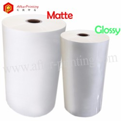 Glossy & Matte BOPP Thermal Laminating Film 15μm to 30μm | AfterPrinting Products