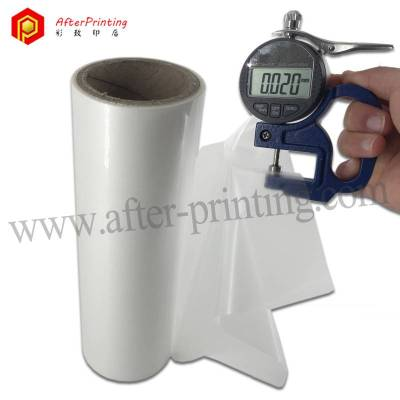 20micron Bright Luster Glossy BOPP Thermal Lamination Film