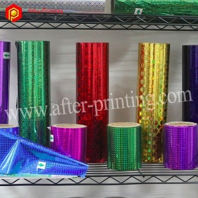 Holographic Lamination Film For Paper
