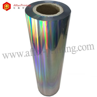 BOPP Holographic Hot Laminating Film For Paper