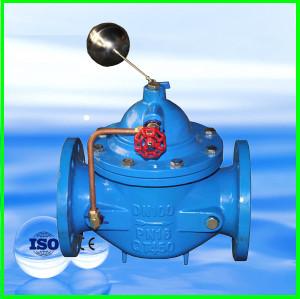 Hydraulique soupape de commande à distance avec boule de flotteur