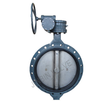 Single flanged wafer butterfly valve