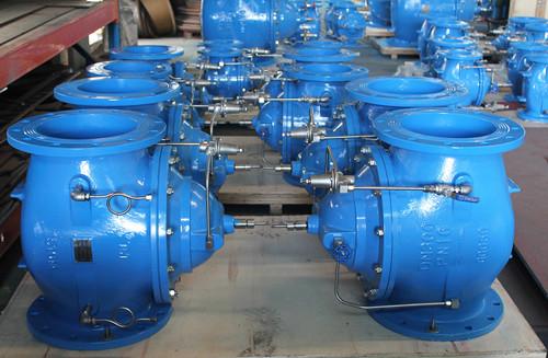 400X Flow cast iron water control valve