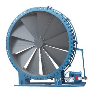 Electric louver valve