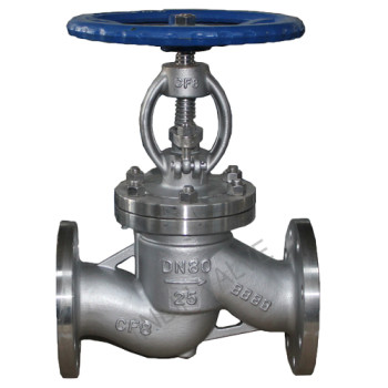 Stainless steel flanged globe valve