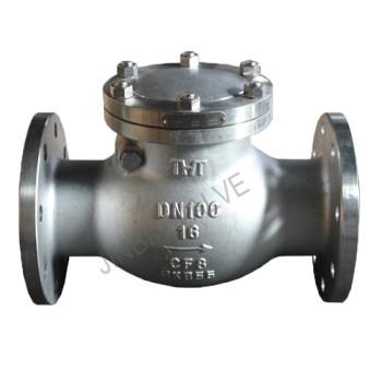 API cf8 flange swing check valve