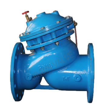 Multi-function water pump control valve