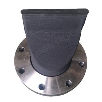 Built in flange Duckbill valve