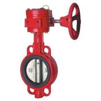 cast iron fire fighting signal wafer butterfly valve from Chinese distributors