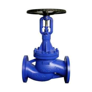 DIN bellows globe valve