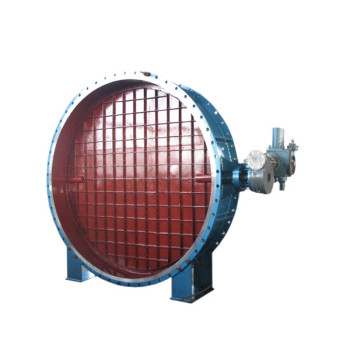gas tight t shape electric air damper