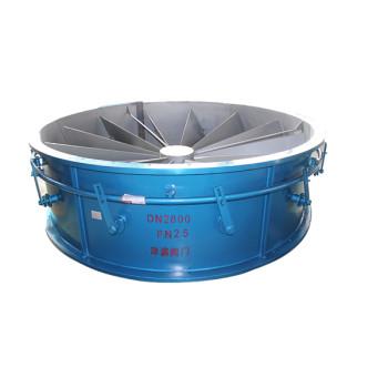 flue gas butterfly louver damper valve serve as industrial louver
