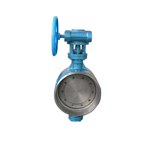 metal seat weld ended butterfly valve