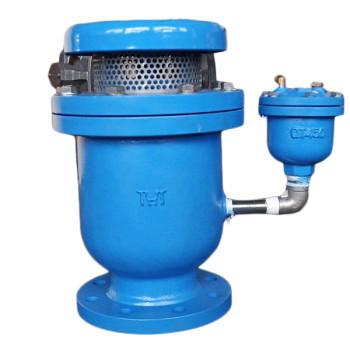 Dual orifice high speed compound exhaust valve