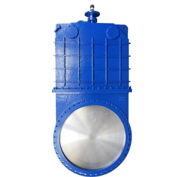 non rising bi-directional resilient seated Knife Gate Valve