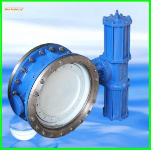Excentrique vanne papillon pneumatique valve