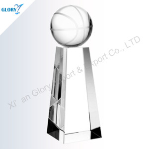 Wholesale Crystal Basketball Trophies