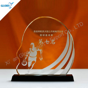 Wholesale Crystal Basketball Awards