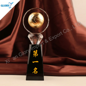 Custom Basketball Trophy By Crystal