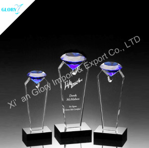 Customized Optical Crystal Award and Trophy For Wholesale