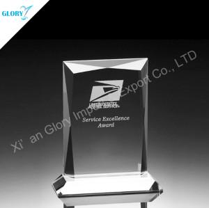 China Custom Award Trophies Crystal