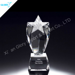 Noble Custom Crystal Star Award