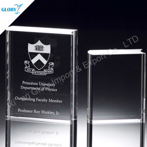 Wholesale Personalized Crystal Book Trophy