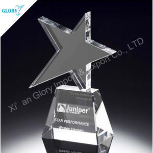New Design Crystal Star Trophy