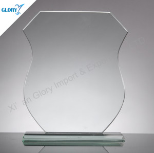 New Jade Glass Plaque for Trophies