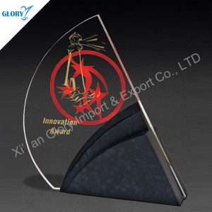 China Crystal Trophy For Activity Souvenir