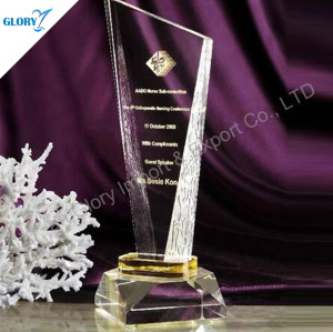 Crystal Plaques and Awards For Activity Souvenir